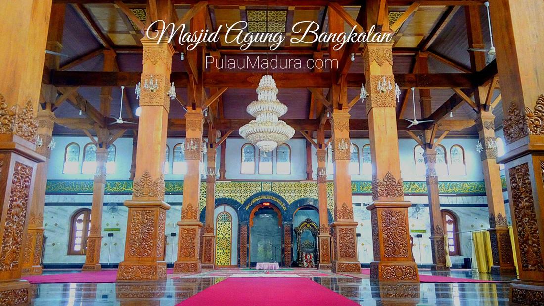 Sekilas Mengenai Sejarah Berdirinya Masjid Agung Bangkalan Gerbang Musium Cakraningrat