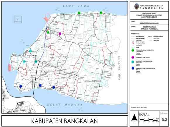 Bangkalan Plaza Plasa Kabupaten Pemerintah Tata Pariwisata Pantai Maneron Kab