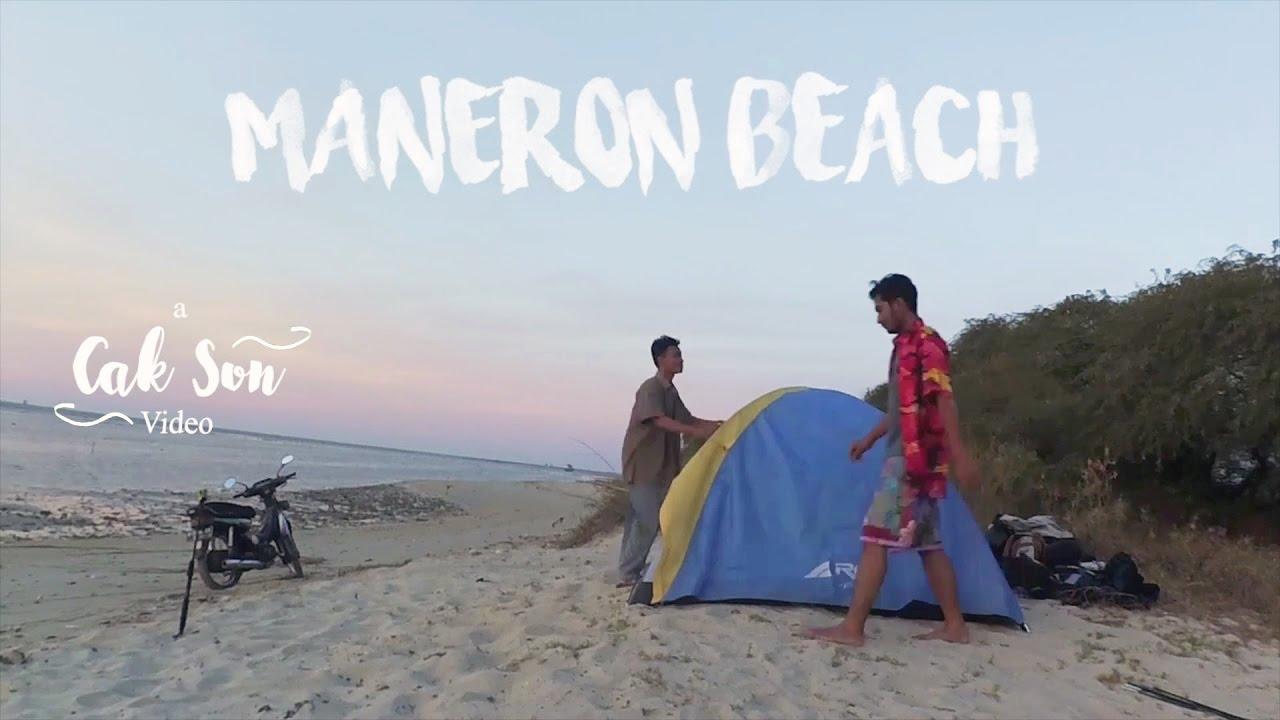 Camping Ceria Pantai Maneron Bangkalan Travelvlog 55 Youtube Kab