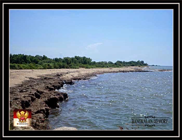 Pantai Banyusangkah Tanjung Bumi Bangkalan Menawan Wisata Madura Maneron Kab