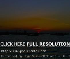Pantai Maneron Sepulu Perawan Madura Jawa Timur Sunset Indah Kab