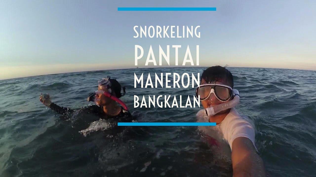 Snorkeling Pantai Maneron Sepulu Kab Bangkalan Madura Travelvlog 52
