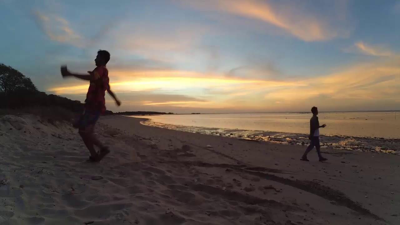 Timelapse Sunset Maneron Beach Pantura Madura Youtube Pantai Kab Bangkalan