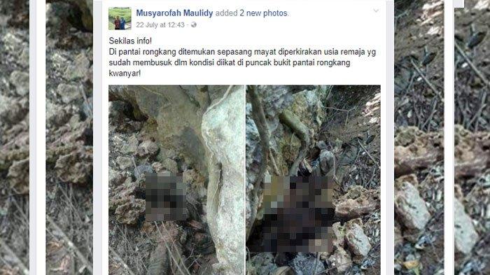 Misteri Kerangka Manusia Pantai Rongkang Madura Terkuak Dibunuh Sadis Kab