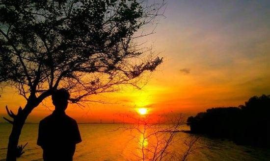 Obyek Wisata Pantai Rongkang Kwanyar Bangkalan Akses Menuju Kab