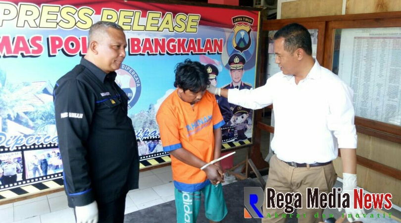 Polisi Bekuk Buronan Komplotan Pembunuhan Sepasang Remaja Pantai Rongkang Bangkalan