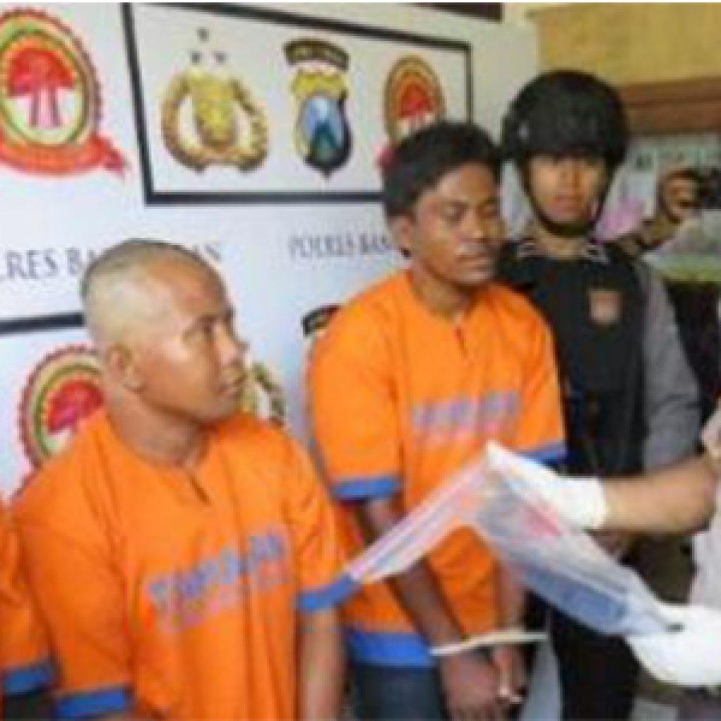 Polisi Tangkap 3 Pelaku Pembunuhan Sepasang Kekasih Pantai Rongkang Bangkalan