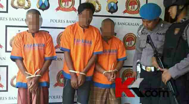 Tiga Tersangka Eksekusi Memperkosa Sepasang Kekasih Pantai Bangkalan Tidak Lebih