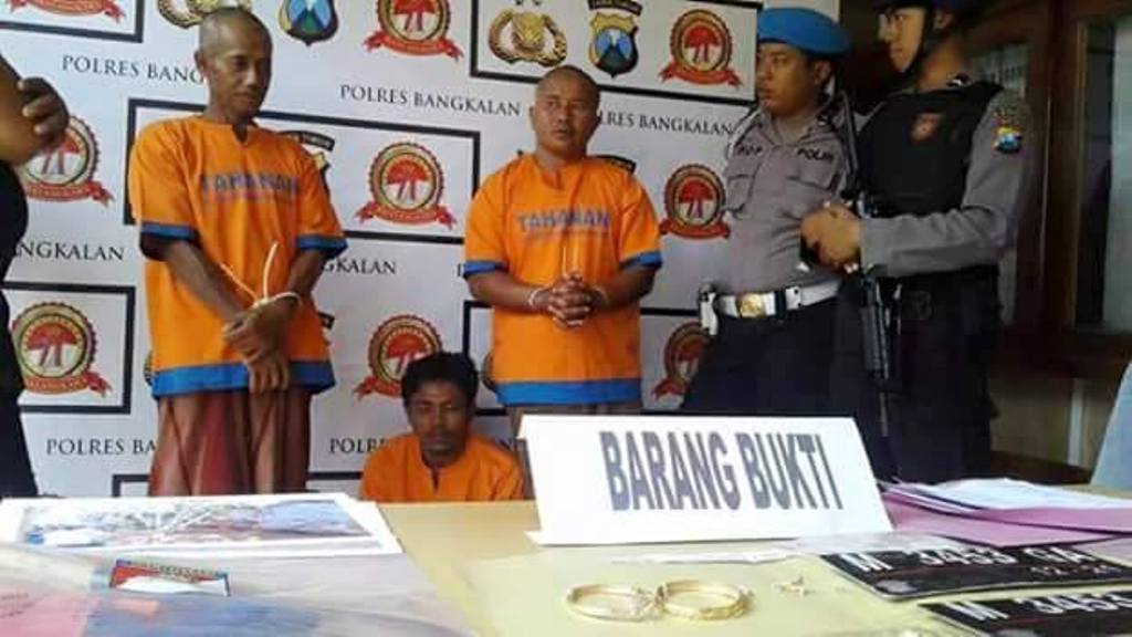 Warga Kwanyar Berharap Kantor Polsek Pindah Pantai Tiga Tersangka Barang
