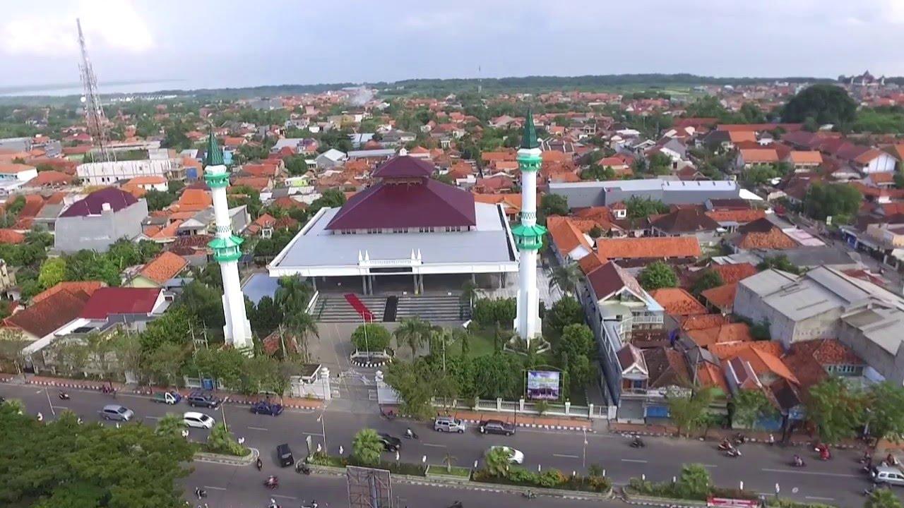 Aerial Taman Paseban Bangkalan Youtube Kab