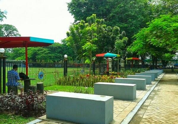 English Tourism Taman Paseban Bangkalan Madura Worry Seat Spot Place