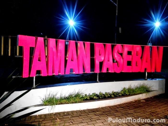 Indahnya Taman Paseban Kota Bangkalan Gerbang Pulau Madura Kab