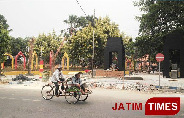 Mcw Soroti Pembangunan Taman Paseban Madura Times Peristiwa Proyek Bangkalan