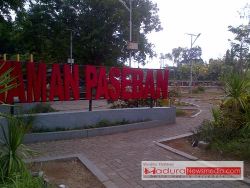 Taman Paseban Kembali Dipercantik Madura Newsmedia Bangkalan Kab