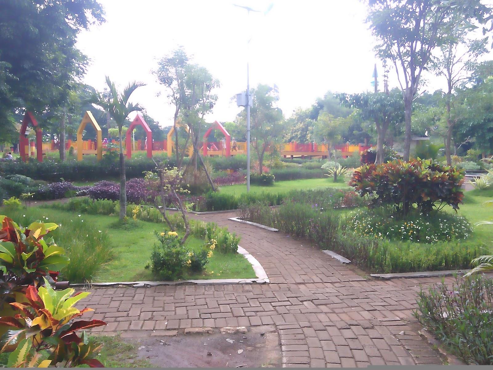 Taman Paseban Pariwisata Terletak Jantung Kota Kabupaten Bangkalan Menjadi Tempat