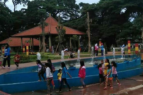 Website Resmi Pemerintah Kabupaten Bangkalan Keindahan Taman Paseban Kawasan Jantung