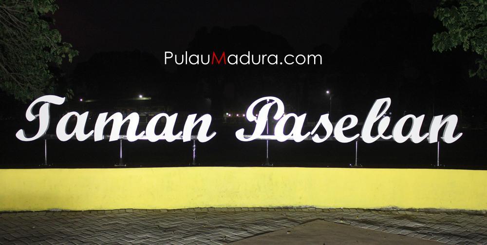 Wisata Taman Paseban Kota Bangkalan Gerbang Pulau Madura Menghabiskan Waktu