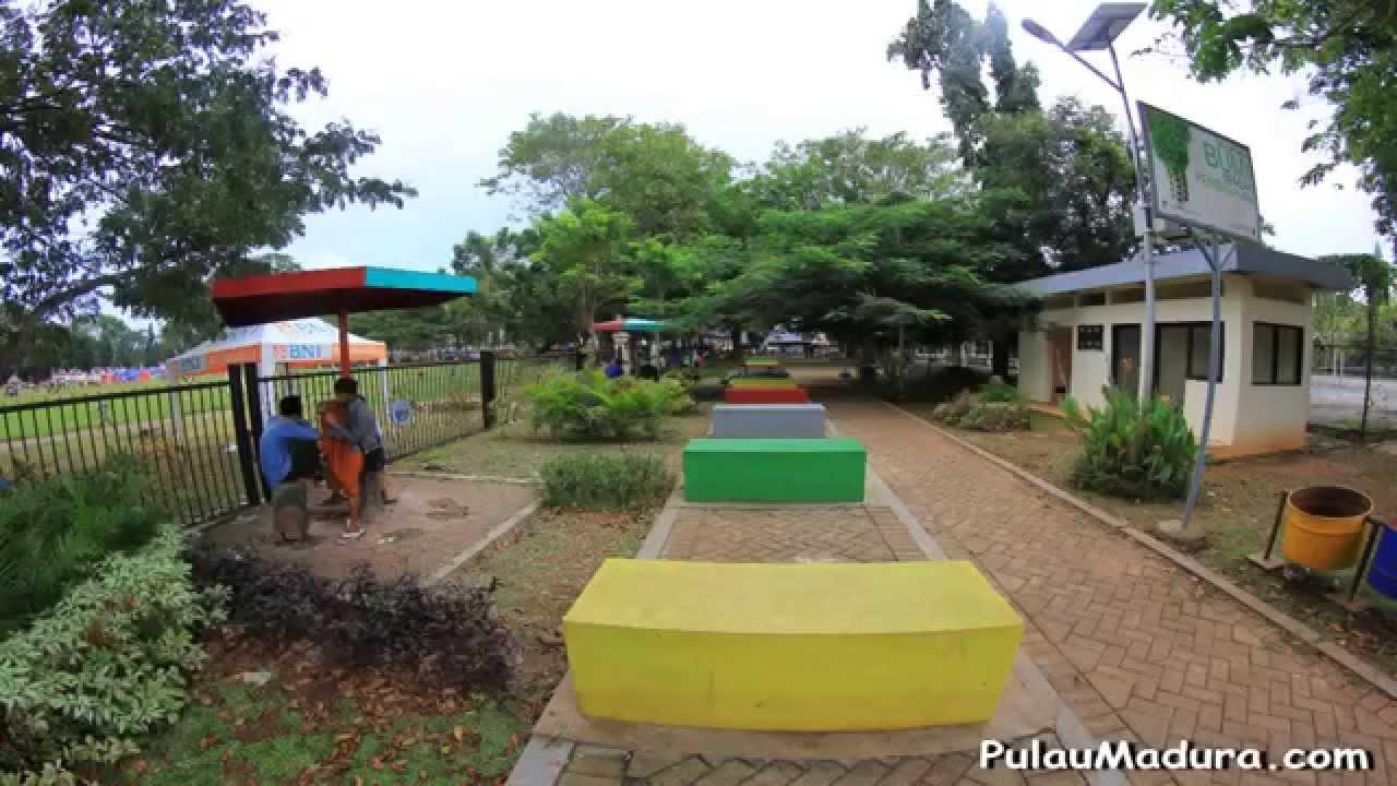 Wisata Taman Paseban Kota Bangkalan Madura Youtube Kab
