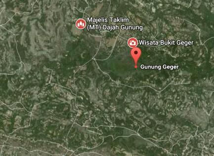 Pesona Keindahan Wisata Gunung Geger Bangkalan Daftar Tempat Demikianlah Sedikit