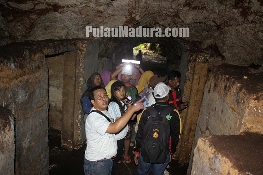 Potensi Wisata Kolam Air Alami Desa Jaddih Bangkalan Gerbang Gua