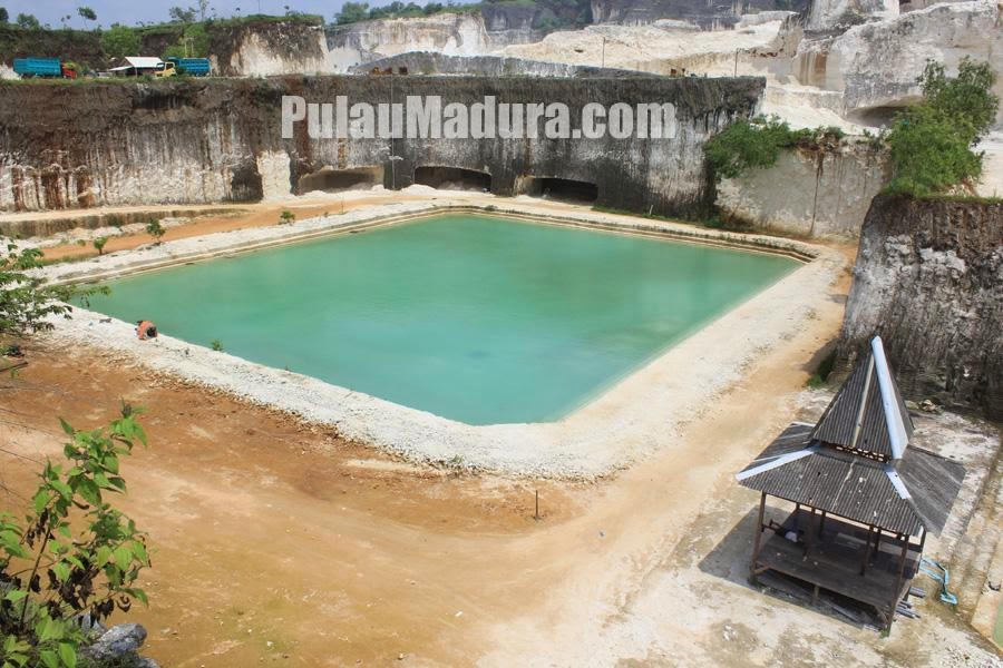 Potensi Wisata Kolam Air Alami Desa Jaddih Bangkalan Gerbang Renang