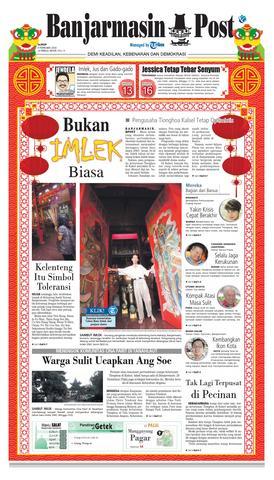 Banjarmasin Post Senin 8 Februari 2016 Issuu Page 1 Kelenteng