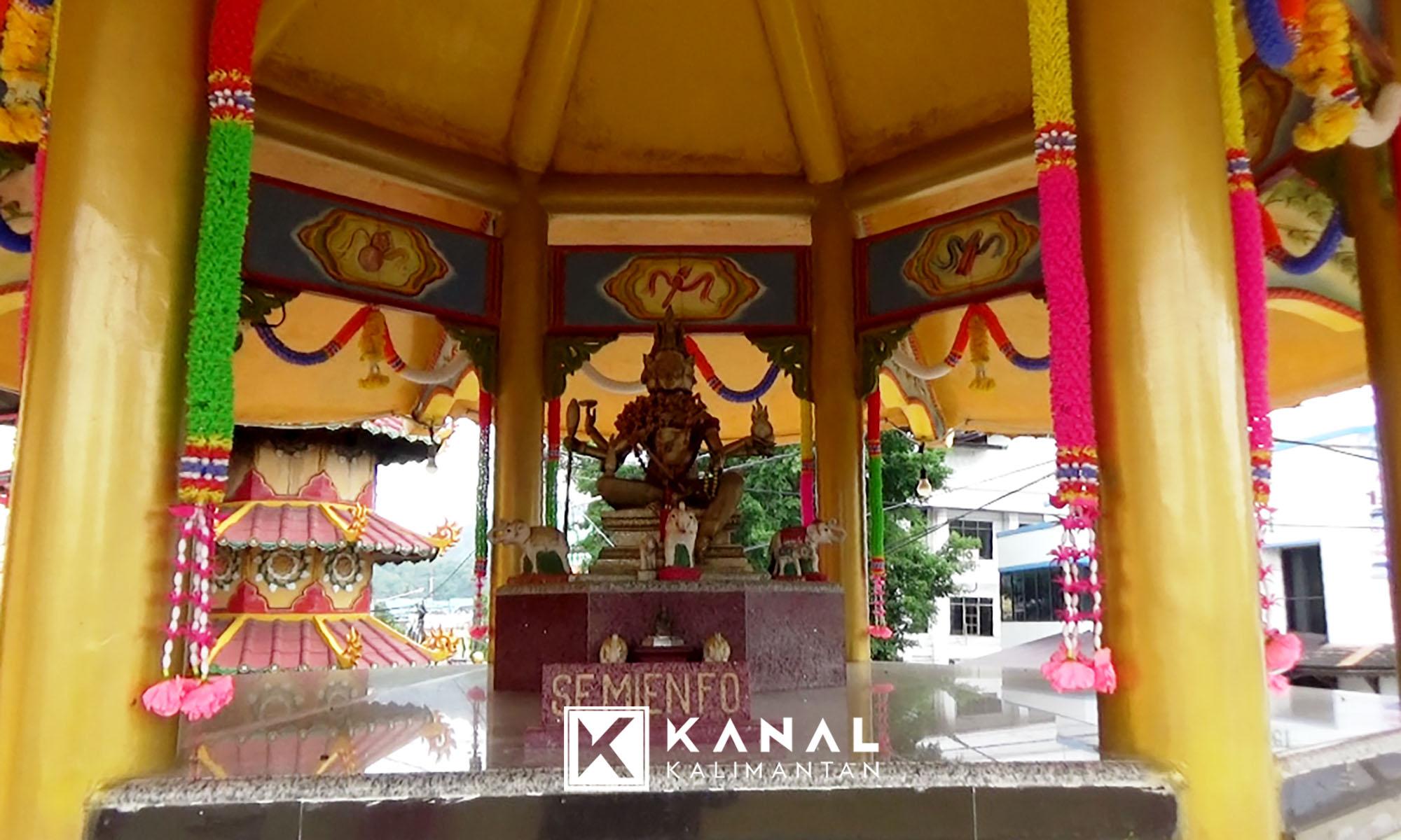 Imlek 2565 Klenteng Hwa Tian Kotabaru Sepi Kanal Kalimantan Perayaan