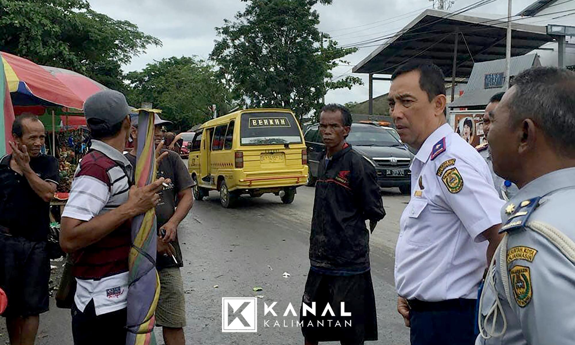 Jalan Veteran Bakal Berlaku Alias Satu Arah Kanal Kalimantan Dishub