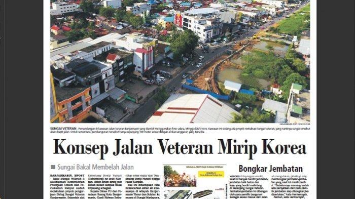 Konsep Jalan Veteran Mirip Korea Sungai Bakal Membelah Kelenteng Soetji