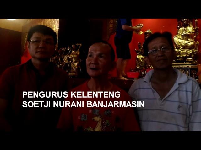 Ritual Jelang Imlek Kelenteng Soetji Nurani Banjarmasin Post Kab
