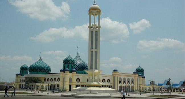 Banjarmasin Kota Seribu Sungai Borneo Benjar Kalimantan Selatan Masjid Raya