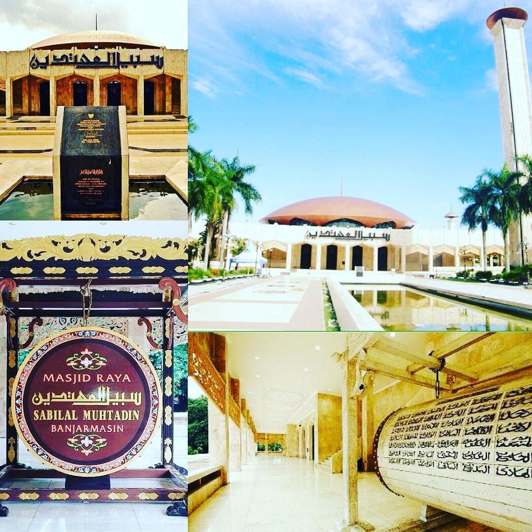 Blog Enjoy Buat Temen Kpopers Wisata Banjarmasin Masjid Raya Sabilal