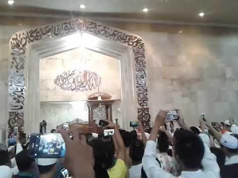 Bp Presiden Jokowi Pulang Sholat Masjid Raya Sabilal Muhtadin Banjarmasin