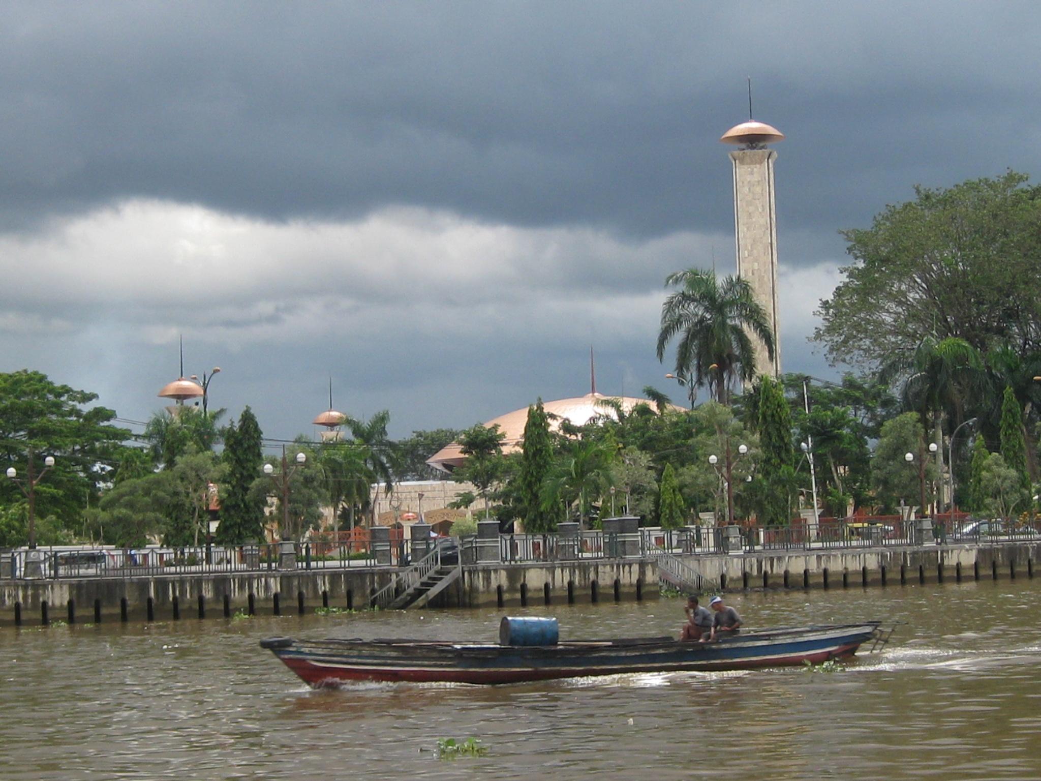 Kalimantan Purnamatravel Blog Masjid Raya Sabilal Muhtadin Kab Banjarmasin