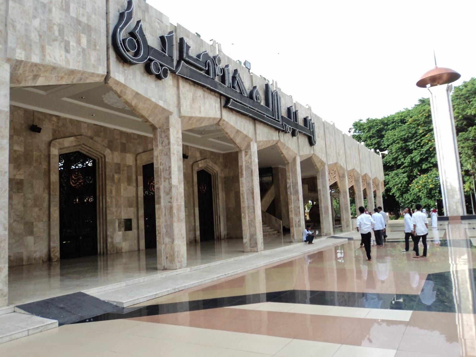 Kalimantan Selatan Archives Arum Silviani Masjid Sabilal Muhtadin Diambil Nama