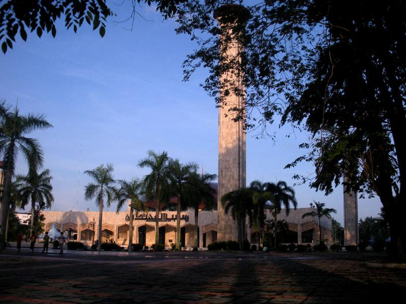 Kota Seribu Masjid Jepret Sabilal Muhtadin Raya Kab Banjarmasin