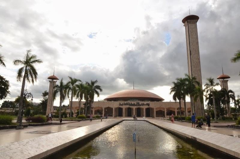 Masjid Kalimantan Selatan Raya Sabilal Muhtadin Banjarmasin Sebuah Besar Berada