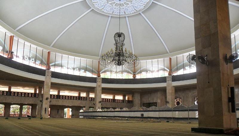 Masjid Kalimantan Selatan Raya Sabilal Muhtadin Menara Terdiri Atas 1