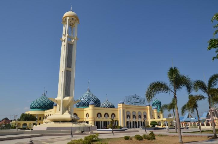 Masjid Populer Kalimantan Selatan Seputar Banjarmasin Agung Alkaromah Martapura Raya