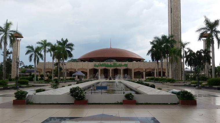 Masjidklopedi Masjid Sabilal Muhtadin Ruang Dialektika Budaya Kalimantan Raya Kab