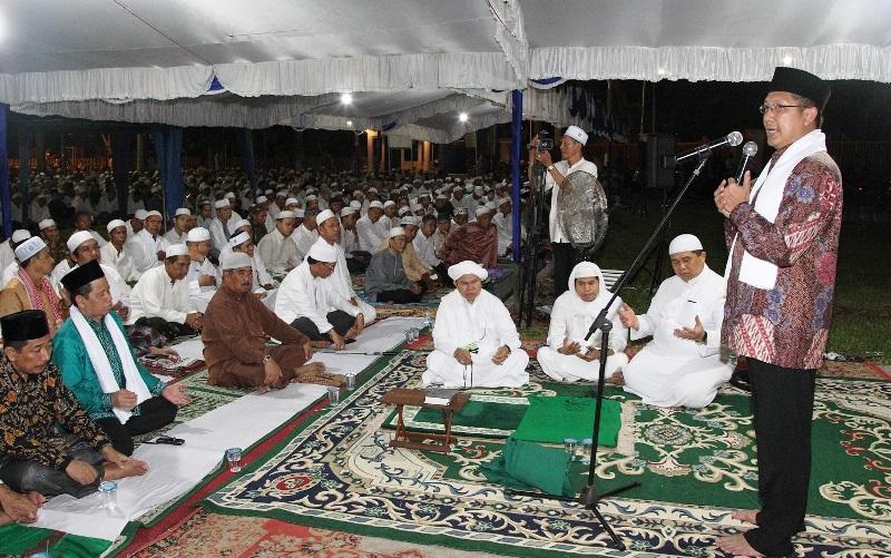 Menag Lukman Hakim Saifuddin Memberikan Sambutan Peringatan Nisfu Sya Ban