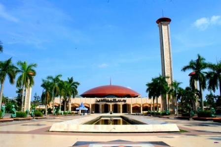 Mesjid Bersejarah Kalimantan Selatan Banjarmasin Culture Masjid Raya Sabilal Muhtadin