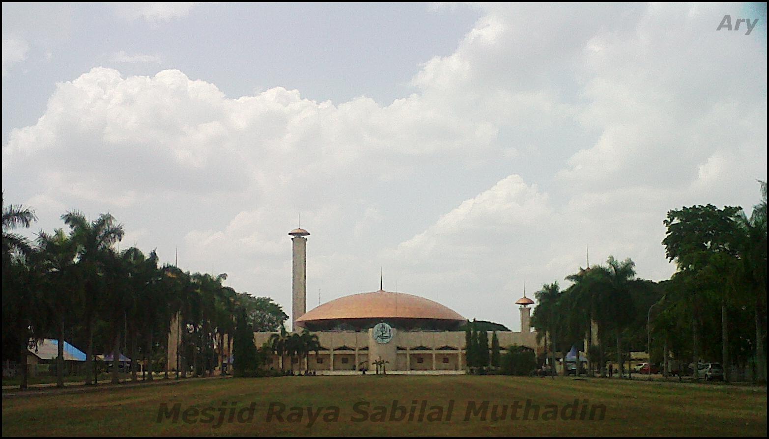 Pariwisata Kalimantan Selatan Sisi Terindah Mesjid Raya Sabilal Muhtadin Mungkin