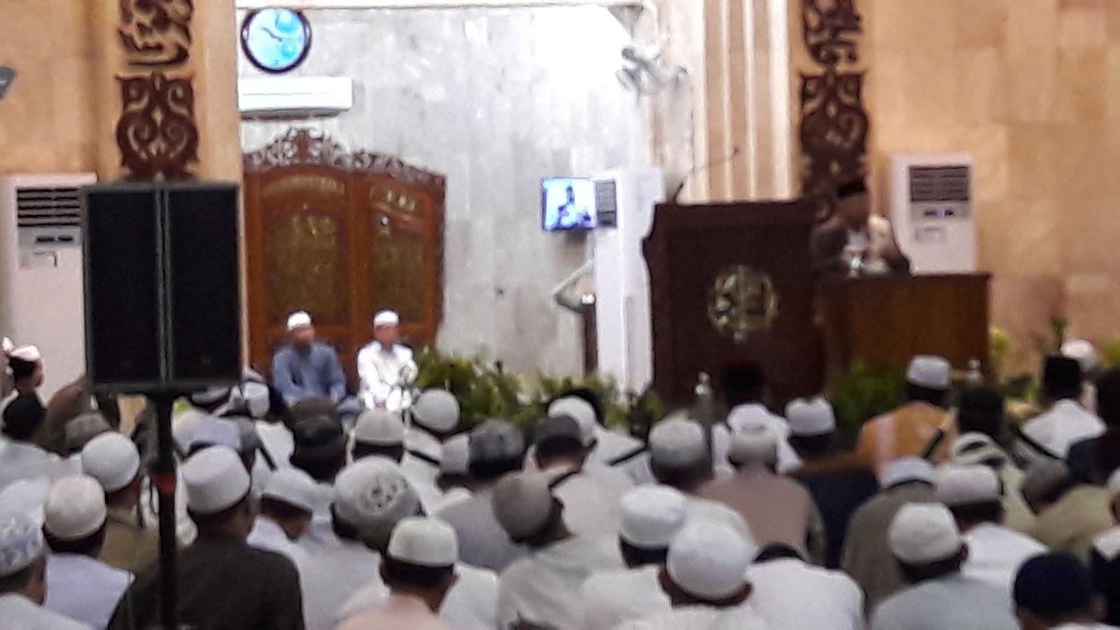 Peringatan Maulid Nabi Sabilal Muhtadin Banjarmasin Masjid Raya Kab