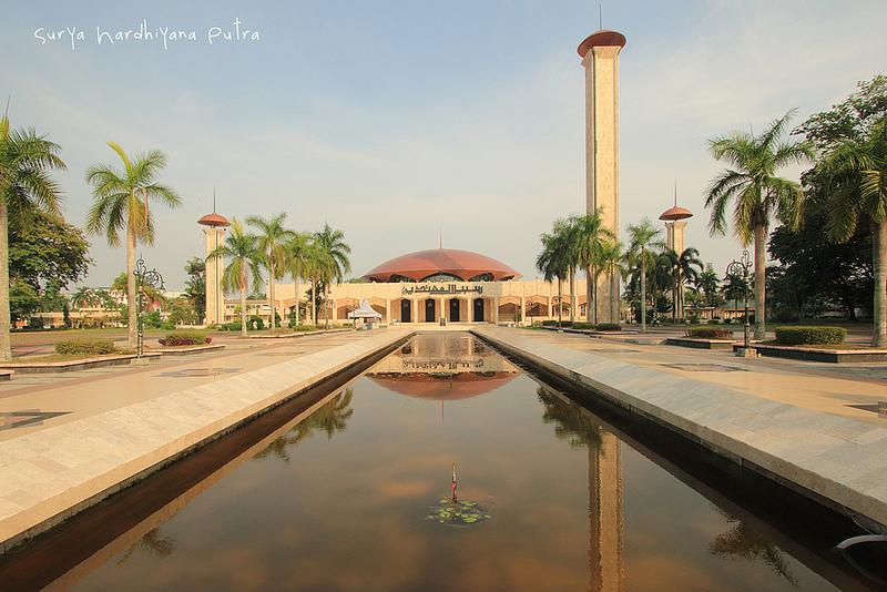 Yolan Adian Ikon2 Daerah Indonesia Masjid Raya Sabilal Muhtadin Kab