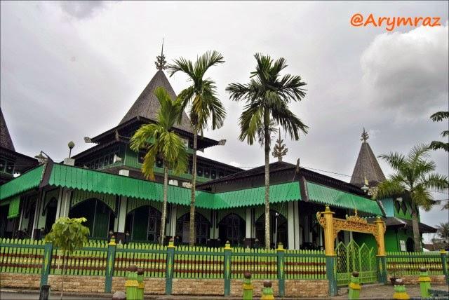 Ary Wardhana Yusuf Jejakku Masjid Sultan Suriansyah Kab Banjarmasin