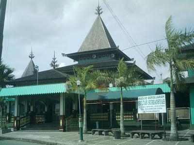 Banjarmasin City Kompulan Foto Kota Makam Sultan Suriansyah Berada Kuin