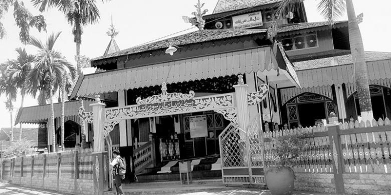 Banjarmasin Masjid Suriansyah Kompas Suasana Sultan Kelurahan Kuin Utara Kota