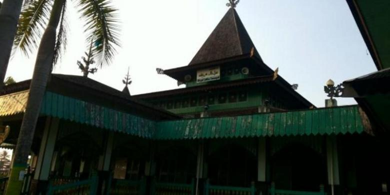 Cerita Menarik Balik Masjid Tertua Kalimantan Selatan Halaman Sultan Suriansyah