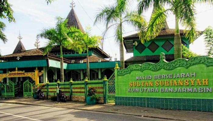 Jejak Keramat Sultan Suriansyah Banjarmasin Akcaya Banner 160x600 Masjid Kab